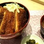 赤城鶏チキンカツ丼ランチ