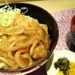 上州麦豚生姜焼き丼ランチ