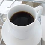82757624 - 夫は本日のコーヒー この日はエチオピアだったかな。。