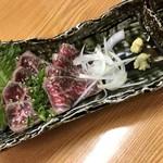 橋本屋 - 和牛のタタキ(仕入れの状況により無い日もございます)
