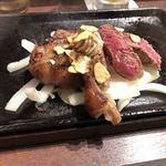 いきなりステーキ - 鉄板再加熱