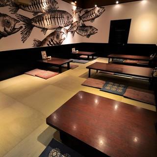 ●大宴会に!最大24名様まで対応可能なお座敷個室あり♪