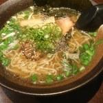 安愚楽 - 料理写真:塩ラーメン680円