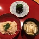 太庵 - 竹の子ご飯