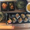お菓子工房 MOANA - 料理写真:店内ではプレミアムキンパ定食が食べれます!6種類のキンパから選んでいただきます!