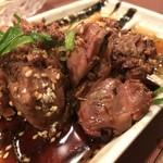 安喜 - 料理写真:牛ステーキカット