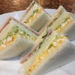 レマン - ミックスサンドイッチは¥630ですよ