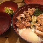 82771572 - ランチメニュー 焼鳥丼1000円