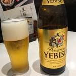 永坂更科 布屋太兵衛 - 【瓶ビール…697円】2018/3