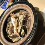 新炉ばた 銀炉 - 海の幸土鍋ご飯