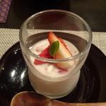 禅紫 - イチゴミルクプリン