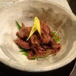 禅紫 - ホタルイカ生姜煮