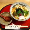 冨士屋 うどん・そば・食事処 - 料理写真:期間限定梅うどん