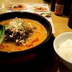 82777697 - 小ぶり担々麺&ご飯(小)