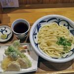 讃岐うどん みやの家 - 料理写真:春天ぷらぶっかけ熱1.5盛