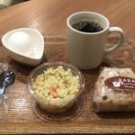 やば珈琲店 - モーニングおすすめセット ドリンクはブレンドコーヒーS
