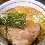 8278497 - らー麺+味玉