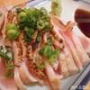とり吉 - 料理写真:大山鶏のももたたき