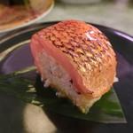 回転寿司 魚どんや - 金目鯛棒すし