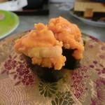 回転寿司 魚どんや - 大盛ウニ