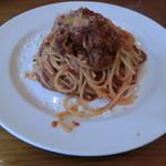 クッチーナ イタリアーナ アンゴロ - 牛バラ肉トマトソース850円