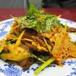 純中国伝統料理四川料理 芊品香 - 牛タンとハチノスのスパイシー和え
