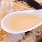 大盛庵 -  出汁を頂いて見ると~蕎麦の出汁ww