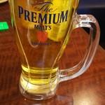 下呂彩朝楽 - 飲み放題 生ビール プレミアムモルツ 合計4杯