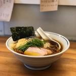 モヒカンらーめん - (2018年2月)醤油ラーメン(^.^)