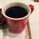 212 - オーガニックコーヒー(ホット)のレギュラーサイズ