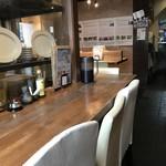 農業高校レストラン - 座った席から見た店内(2018.3.21)