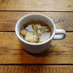 貸切専門バル 麻布FLAT - ランチ:スープ