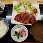 長篠食堂 - トンテキ定食