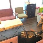 めざましサンド店 - 宿泊者のキッチンスペース