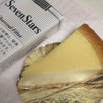 ガトーよこはま - チーズケーキの大きさ