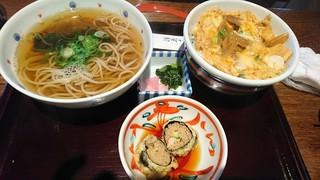 総本家 浪花そば 心斎橋本店 - ひな丼定食 見た目から美味しそう!