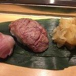 82791066 - 2018年3月。マグロほほ肉炙り280円。