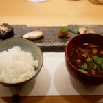 割烹 うづき - お食事