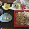 一郷庵 - 料理写真:摘み草天ぷらとせいろ