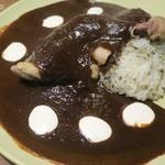 カーサテキーラTokyo - モーレソースはカカオの独特の苦みがあって美味い