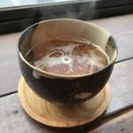 マルニカフェ - 食後のほうじ茶