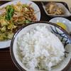 ますや - 料理写真:肉入り野菜炒め定食