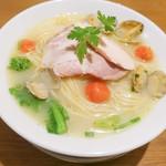 二階堂 - ボンゴレ湯麺