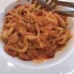 ルイジアナママ - ずわい蟹のトマトクリーム(フィットチーネ生パスタ)