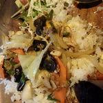 スイバ - 「パッガパオバジル野菜炒め 1,100円」混ぜました