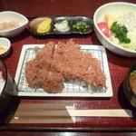 豚肉創作料理 やまと  - '18/03/21 特撰コンビカツ膳(税込1,800円)