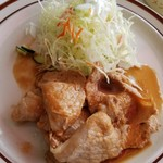 ランチハウスぐっち - 生姜焼き