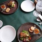 ビストロウー・ルー - Cランチ前菜2種盛り