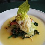 ビストロウー・ルー - 目鯛のポワレ 白ワインバターソース