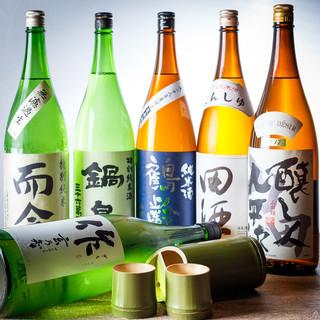 【焼酎・日本酒・梅酒】希少なものまで様々な種類をご用意◎